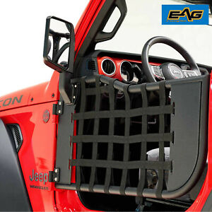Eag Matrix Replacement Tube Door With Side Mirror For 18 19 Jeep Wrangler Jl 2dr