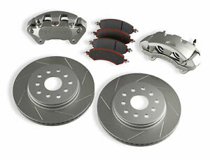 Teraflex Front Big Brake Kit With Slotted Rotors 4303420 For Jk Jku Wrangler