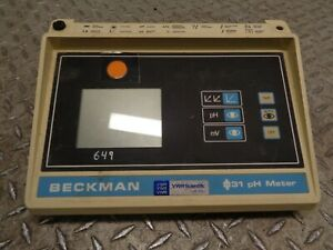 Beckman 31 Ph Meter Model Phi 31 Cat No 123115