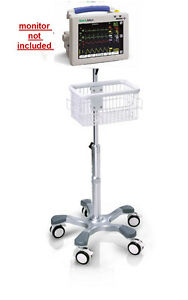 Rolling Stand For Welch allyn Propaq Cs Patient Monitor New big Wheel