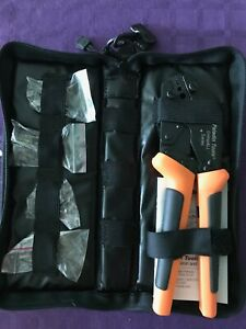 Great Gift Paladin crimpall Series Crimper With 5 Dies And Carry Case