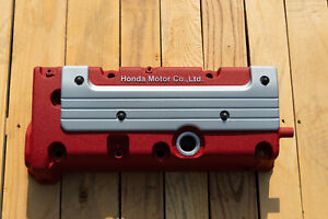 Honda K20 K24 Type R Rsx Accord Civic Valve Cover Powder Coated In Red Wrinkle