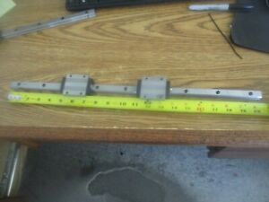 Thk Linear Rail With Two Srs15c Linear Tables 20