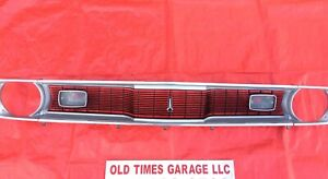 Mopar 1970 71 72 Plymouth Duster 340 Grille Bezels Twister Grill A Body