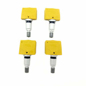 Set Of 4 Tire Air Pressure Sensor For Nissan Frontier Pathfinder Xterra 4 0l V6