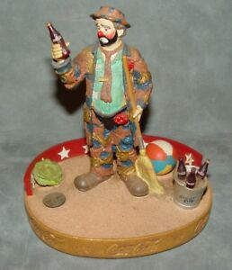 Emmett Kelly Cocoa Cola Figurine