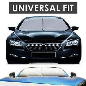 Car Windshield Shade Sun Protection Universal Fit Sunscreen Uv Protection 100
