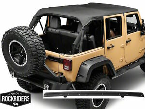 Extended Bikini Top With Windshield Channel 07 18 Jeep Wrangler Unlimited Jk