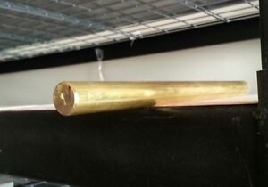 2 00 2 Brass Round Bar Rod C360 X 12