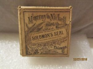 1900 S Sealed Murray Nickell Solomon S Seal Herb Botanic Gardens Chicago Il