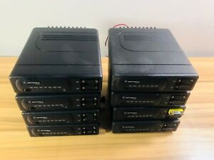 Lot Of 8 Motorola Vrm650 Data Mobile Radio Vrm 650 Please Read