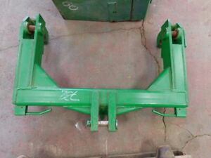 John Deere Heavy Duty Solid Steel Category 2 Quick Hitch W Pins Tag 738