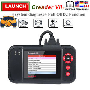 Launch X431 Pro Creader Vii Obd2 Eobd Diagnostic Scanner Tool Abs Airbag Srs At