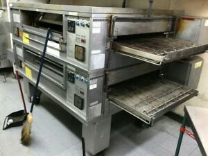 Middleby Marshall Double Conveyor Pizza Oven Model Ps570s