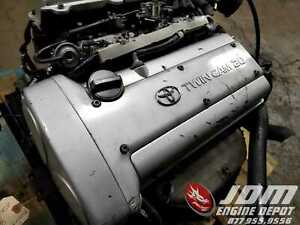 91 95 Toyota Corolla Ae101 Twin Cam Engine At Swap 4age K143378 Free Shipping
