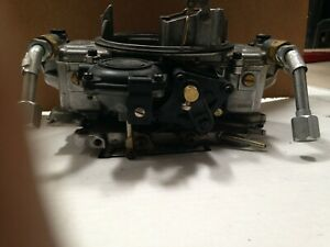Holley 650 Carburetor Double Pumper Remanufactured By Holley