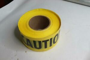 Qty 8 3 X 1000 Ft Yellow Caution Tape
