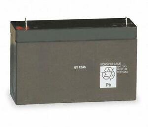 Lithonia Lighting Elb 0610 6v 10ah Sealed Lead Acid Battery
