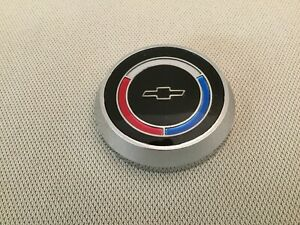 1965 66 Corvette Horn Button Nos Gm 3883627 All W Telescopic Steering Column