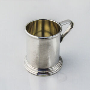 Small Mug Tankard Form Sterling Silver Lunt