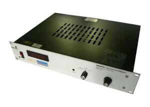 Pacific Precision Instruments 206 High Voltage Power Supply Sold As Is