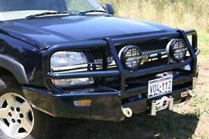 Arb 4x4 Accessories 3462020 Front Deluxe Bull Bar Winch Mount Bumper