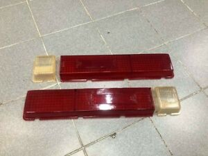 For Datsun 521 Ute 1970 Taillight Cover Lens New 1 Pair After Market
