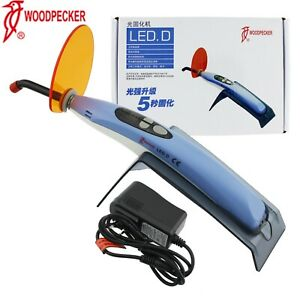 Woodpecker Dental Curing Light Led Lamp Unit Wireless Cordless Original Led D