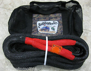 Bubba Rope 7 8 X 30 Nylon Fiber Double Braid Tow Recovery 4x4 Snatch Strap
