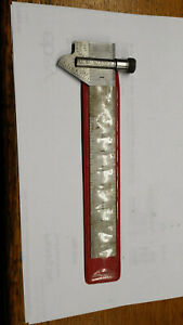 Starrett No c601 6 Inch Machinist s Rule W 22c Drill Gage