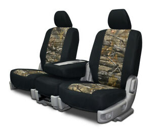 Custom Fit Seat Cover For Geo Tracker In Realtree Front Rear