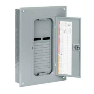 Square d Qo 125 Amp Indoor Plug on Load Panel Electrical Power Distribution Box