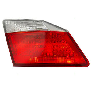 Fits Honda Accord 2013 2014 Drivers Taillight Tail Lamp Lens Assembly