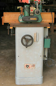 1 1 2 Hp Grizzly Shaper G1035 With Variable Speed Power Feeder