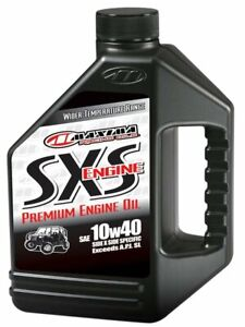 Maxima Sxs 10w40 Premium Engine Oil 1 Gallon 30 049128