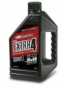 Maxima 30 30901 Extra4 10w 60 Synthetic 4t Motorcycle Engine Oil 1 Liter