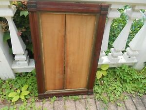 Antique Eastlake Picture Frame Very Large Or Mirror Red Mahogany Estate Find