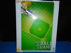 Baseball Field Magnetic Glass Dry Erase Board 12 X 16 Marker Included New