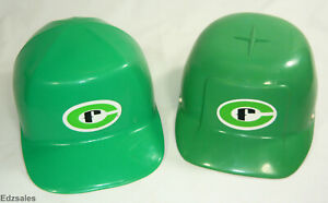 2 Vintage Green Bump Caps Bullard Glengard Glendale Optical Hats