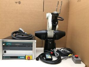 Industrial Crs Robotics A465 Robot Arm With C500c Controller And Pendant