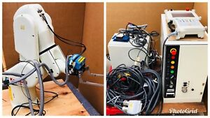 Kawasaki Fs02n Robot Axis 6 Robotic Arm With C70g a001 Controller And Cables