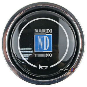 New Steering Wheel Push Horn Button W Nardi Logo Fits Momo Sparco Omp 001