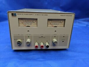 Hp Agilent 6024a Bench Lab Power Supply 60v 10a 200w Calibrated And Tested