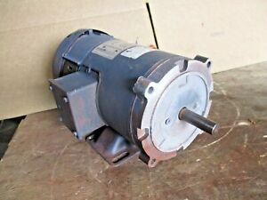 Leeson 1 2 Hp dc Permanent Magnet Motor Fr S56c Rpm 1750 313149j New