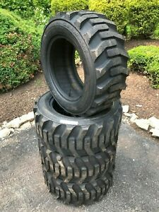 4 New Galaxy Xd2010 Skid Steer Tires 27x10 5 15 for Bobcat Case And More