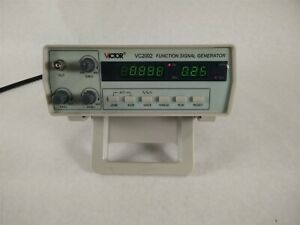 Victor Vc2002 Symmetry Frequency 12mhz Low Dist Function Signal Generator