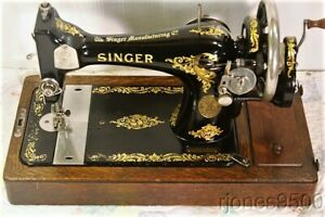 1912 Singer Hand Crank Sewing Machine Model 128