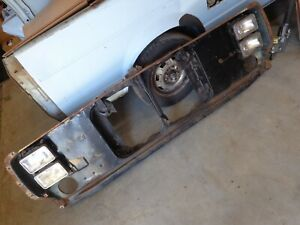 1979 80 Dodge Lil Red Express Truck Ramcharger Power Wagon Radiator Core Support