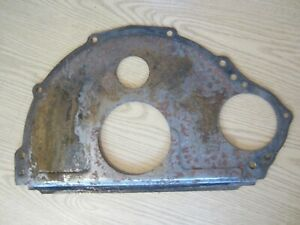 Ford Mercury Fe Engine Block Plate 352 360 390 410 427 428 Original Vintage