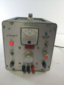 Power Designs Inc Transistorized Power Supply Model 1010t Tested